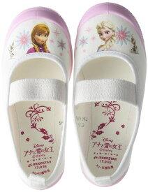 ムーンスター ディズニーアナユキバレー01アナと雪の女王キャラクター うわばきピンク