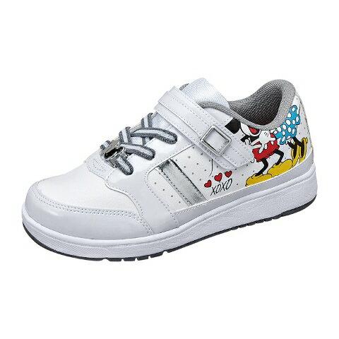 ムーンスター ディズニーミッキーマウスシリーズDN J1177ホワイト
