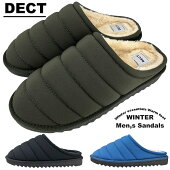 サンダルサボサンダルメンズサボスリッポンスリッパつっかけクロックもこもこキルティングダウンクッション性厚底防寒ボアあったかい大きいサイズおしゃれ冬あす楽送料無料一部除く靴靴パワー22-33