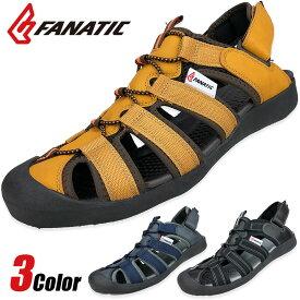 スポーツサンダル サンダル メンズ スポーツ スニーカーサンダル アウトドアサンダル サボ クロッグ グラディエーター かかとなし FANATIC ブランド 2way クッション性 通気性 紳士靴 メンズ靴 靴 靴靴パワー