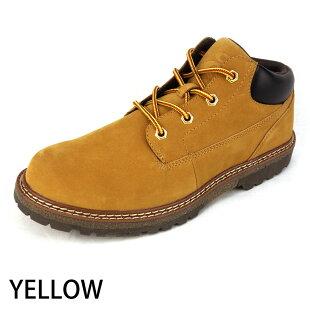 期間限定送料無料あす楽ブーツメンズワークブーツレインブーツスノーブーツ雨靴スノーレインスニーカーブーツ防水防滑防寒カジュアルブーツおしゃれ25.0cm25.5cm26.0cm26.5cm27.0cm28.0cmブラックイエロー/18-5/靴靴パワー