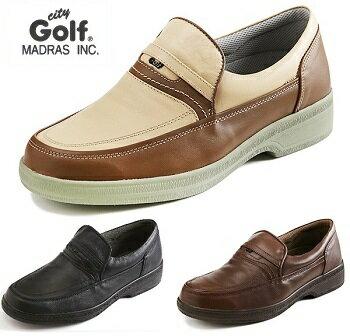 ☆送料無料☆【city Golf】スリッポン 幅広 軽量 GF5003 4Eモデル カジュアル ビジネス 普段履き