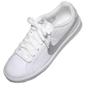 【靴のHOSHIKAWA】 『NIKE 844896』ナイキ ホワイト22.5cm〜25cm レディースローカット フラット