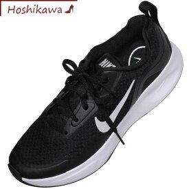 【靴のHOSHIKAWA】 『NIKE CJ1677 001』ナイキ ブラックスニーカー レディース23cm〜26cm レースアップカジュアル 運動靴