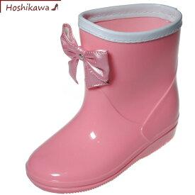 【靴のHOSHIKAWA】『GAME レインシューズ 538-03』防水 雨靴 防滑ショート丈 女の子16cm〜21cmキッズ