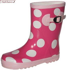【靴のHOSHIKAWA】 『子供レインシューズ 1317』19cm〜23cm