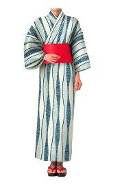 【業務用】【浴衣】【夏】【旅館】【温浴施設】【和風】【寝巻き】【帯別売り】上品な色使い、品のある柄が大人の男女に似合う立涌文様柄浴衣。