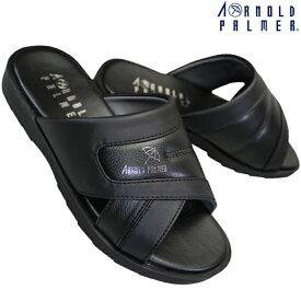 アーノルドパーマー AP2055 ブラック メンズ ヘップサンダル メンズ サンダル つっかけ シューズ 靴 ARNOLD PALMER