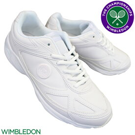 アサヒシューズ ウィンブルドン スニーカー 051 KF74394 キッズ ジュニア メンズ レディース ホワイトスムース 22.5cm〜28cm 白スニーカー 通学スニーカー 白スクールシューズ 通学靴 白靴 運動靴 合成皮革 WIMBLEDON ASAHI