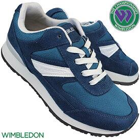 アサヒ ASAHI ウィンブルドン WIMBKEDON L041 KF79542 ネイビー レディース ローカットスニーカー カジュアルシューズ 運動靴 軽量 幅広 ワイド