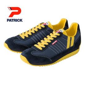 PATRICK パトリック メンズ レディース スニーカー 靴 マラソン MARATHON ネイビー イエロー (9422)