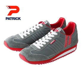 PATRICK パトリック メンズ レディース スニーカー 靴 マラソン MARATHON グレー (9624)
