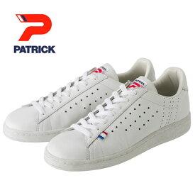 【シンプルな人気モデル!】PATRICK パトリック メンズ レディース スニーカー 靴 ケベック QUEBEC ホワイト(119630)