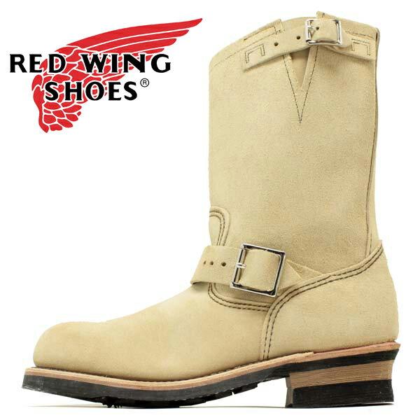 【国内正規品】REDWING 8268 Engineer レッドウイング エンジニア ブーツ ベージュ ホーソーンアビレーン メンズ レディース(rw8268)