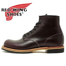 """【国内正規品】REDWING 9411 Beckman Boot 6""""Round-toe レッドウイング ベックマン ブーツ ラウンドトゥ ブラックチェリー フェザーストーン メンズ レディース (rw9411)"""
