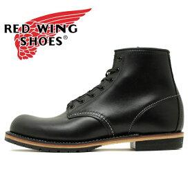 """【国内正規品】REDWING 9414 Beckman Boot 6""""Round-toe レッドウイング ベックマン ブーツ ラウンドトゥ ブラック フェザーストーン メンズ レディース (rw9414)"""