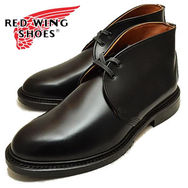 【スーツにもデニムにも!】【国内正規品】REDWING 9096 Caverly Chukka レッドウイング キャバリー チャッカ ブーツ メンズ ブーツ ブラック フォーマル(rw9096)