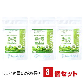 桑の葉エキス まとめ割 3個セット 桑の葉茶の老舗が作った 桑の葉粒 (桑の葉サプリ 桑の葉 タブレット 桑茶 サプリメント) 送料無料 メール便