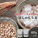 もち麦 国産 400g 2袋セット 送料無料 (国産 希少ダイシモチ100%) ダイエット 腸内環境 内臓脂肪 食物繊維 ポリフェノ…