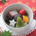 船橋屋 【季節限定】クリスマスフルーツあんみつ (お届け期間:12/2〜12/25)【冷蔵品】