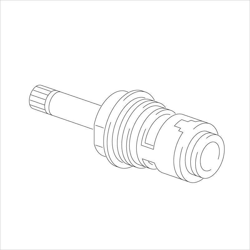 【KPS055C】旧MYMバス水栓用止水カートリッジ