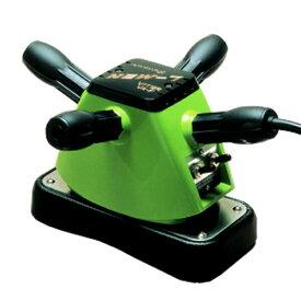 【NEW 手持ち式 家庭用 電気 マッサージ器】 振動 床屋 電動 マッサージ機 業務用 色:緑