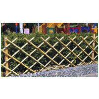 【簡単 フェンス】 天然竹 竹垣II (支柱用竹付き) 簡単設置 簡易 柵 バリケード 竹フェンス ワンタッチ fence 簡単 フェンス