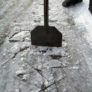【氷割 スプリング内蔵 スクレーパータイプ】凍結 氷雪 砕く