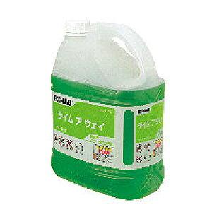 2本入 業務用・水アカ落とし洗剤 エコラボ ライムアウェイ(4L×2本)