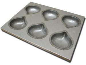 シリコンコーティング マロン天板(栗型)(6ヶ取)
