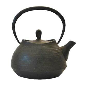 Southern iron ITCHU-DO tea pot brush eyes 0.6 L