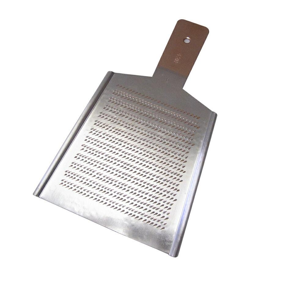 大矢製作所作 手作りの銅おろし金 平型2号(標準) 両面刃【RCP】