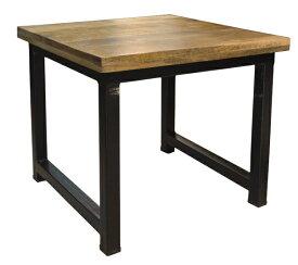 送料無料! アンティーク風家具木製ローテーブルW570mmxD550xH500mmxt37mm