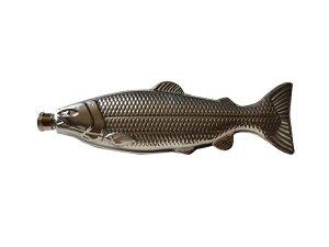 【TDI FLASK】フラスコ・スキットルステンレス製 魚 小