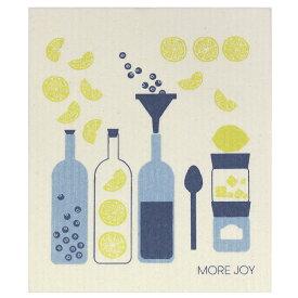 【ネコポス対応】【MORE JOY】モアジョイ スポンジワイプ ブルーベリーライム 【1枚】No.1206