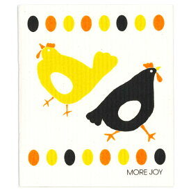 【ネコポス対応】【MORE JOY】モアジョイ スポンジワイプ チキン デュオ【1枚】No.4078