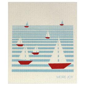 【ネコポス対応】【MORE JOY】モアジョイ スポンジワイプ セーリング【1枚】No.4153