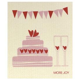 【ネコポス対応】【MORE JOY】モアジョイ スポンジワイプ ハートケーキ【1枚】No.4184
