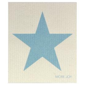 【ネコポス対応】【MORE JOY】モアジョイ スポンジワイプ スター ブルー 【1枚】No.4969