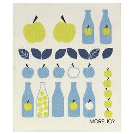 【ネコポス対応】【MORE JOY】モアジョイ スポンジワイプ ウィンターアップルジュース【1枚】No.4740