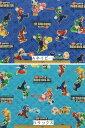 キャラクター生地 布 2017年 入園入学 キルティング生地 スーパーマリオブラザーズWii GQ3225−1 standard 定番商品 …