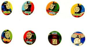 キャラクターボタン きかんしゃトーマス 約タテ16mm 日本製 96101 96102 96103 96104 96105 96106 96107 96108