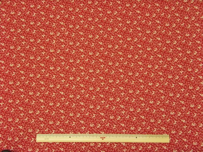 ※現品限りUSAコットン生地 Windham Fabrics RAIN BLOSSOM花柄 28182-1 商用利用可能