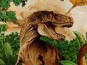 C1545 輸入 USAコットン 入園入学 生地 布 ダイナス 大柄 恐竜 C1545Green タイムレストレジャーズ 【楽天ランキング…