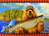 小組模式織物布美國棉花快樂的露營露營者 AVT15650 267 羅伯特 · 考夫曼羅伯特 · 考夫曼熊松鼠羅伯特 · 考夫曼商用 05P01Oct16