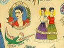 8307A 生地 布 輸入 USAコットン Todo Para Ti あなたのためのすべて 8307Aティー フリーダ メキシコ 女性 画家 THE ALEXANDER HENRY FABRICS ア