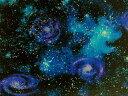 生地 布 USAコットン スターゲイザー SRK14607−231ナイトフォール 宇宙柄 天文学者 ロバートカフマン ロバートカウフマン 商用利用可能