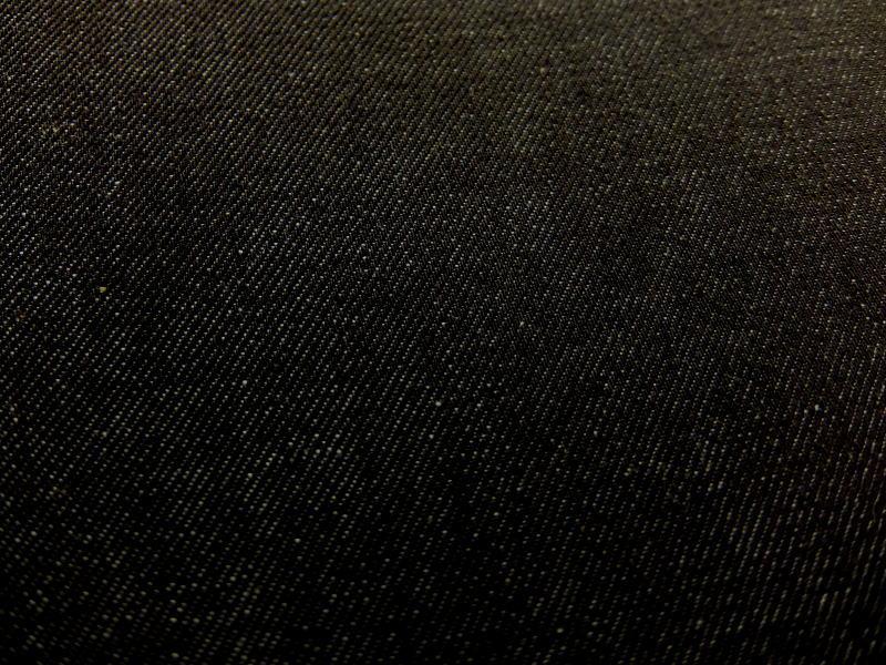 本格 国産 デニム生地 無地 濃色インディゴ 153cm巾 12oz 12オンス 1260−085 商用利用可能