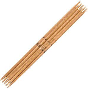 クロバーあみ針棒針 「匠」 5本針 短 5号 54−355