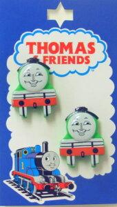 【楽天ランキング入賞商品】TM6キャラクターボタンきかんしゃトーマス型抜き正面ボタン ヘンリー TM6ネコポス発送可能